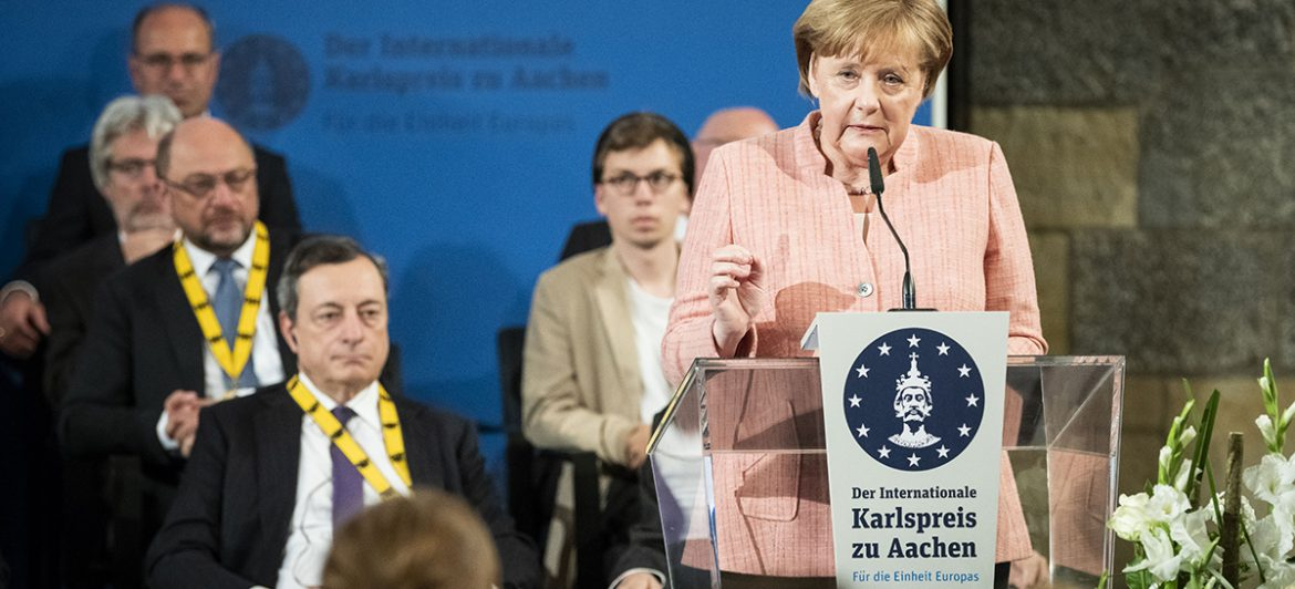 Angela Merkel Applauds Eucor – The European Campus