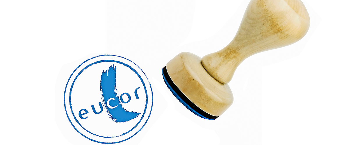 Un tampon appose le label Eucor.