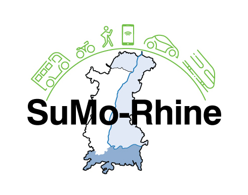 The logo of the SuMo-Rhine project.